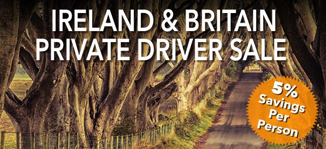 Ireland                                                            and Britain                                                            Private Driver                                                            Sale